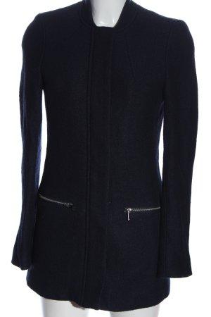 H&M Abrigo largo negro look casual