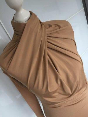 H&M Blusa tipo body marrón claro
