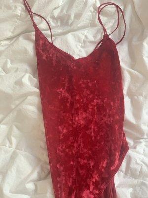 H&M Body in Rot mit Schnürung am Rücken
