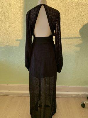 H&M Boho Kleid Netzkleid