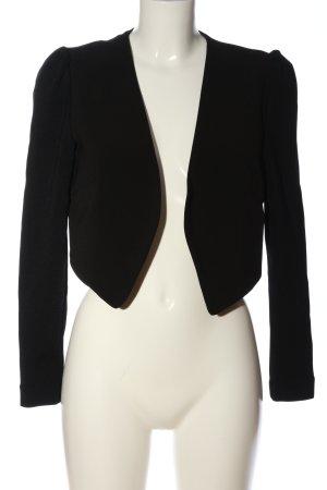 H&M Bolero zwart casual uitstraling