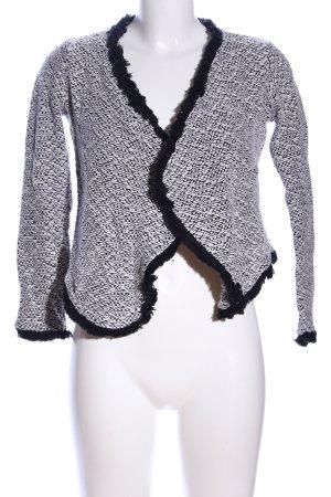 H&M Bolero nero-bianco puntinato stile casual