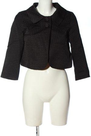 H&M Krótka marynarka czarny W stylu casual