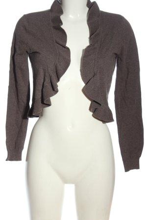 H&M Bolero braun Casual-Look