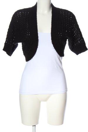 H&M Bolerko czarny W stylu casual
