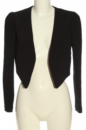 H&M Bolerko czarny W stylu biznesowym