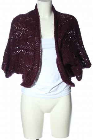 H&M Strick Cardigan rot Casual-Look