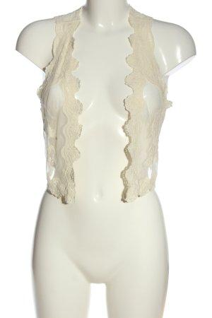 H&M Torera blanco puro elegante