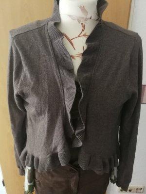 H&M Conscious Collection Bolero marrone-grigio