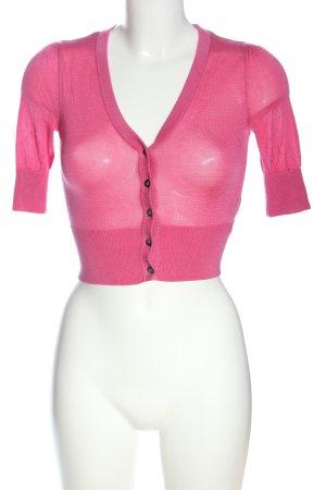H&M Bolero roze casual uitstraling