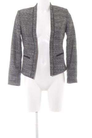 H&M Bolero schwarz-weiß Business-Look