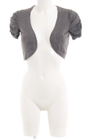 H&M Bolero silberfarben-grau klassischer Stil