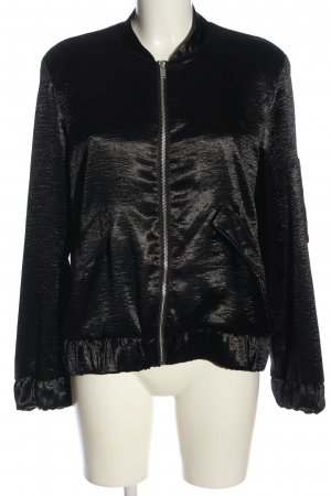 H&M Bomber Jacket black casual look