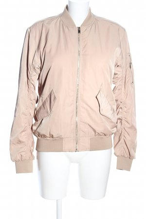 H&M Chaqueta bomber nude look casual