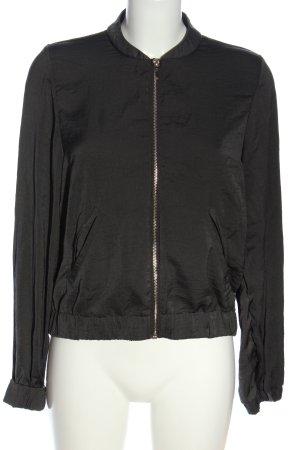 H&M Bomberjack zwart casual uitstraling