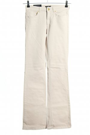 H&M Boot Cut Jeans wollweiß Casual-Look