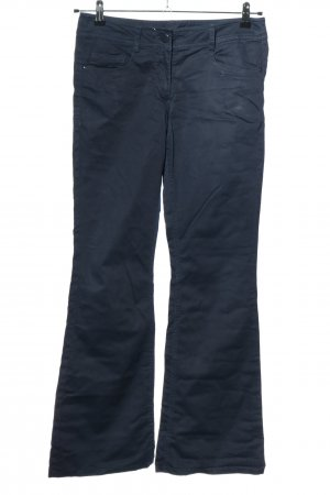 H&M Jeansy o kroju boot cut niebieski W stylu casual