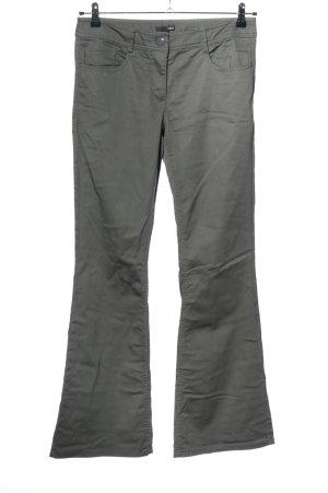 H&M Jeansy o kroju boot cut jasnoszary W stylu casual