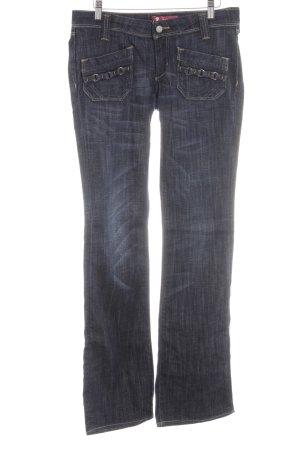 H&M Boot Cut Jeans blau Casual-Look