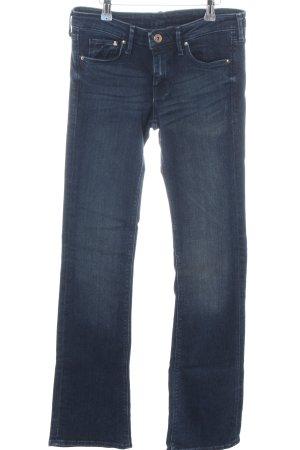 H&M Vaquero de corte bota azul look casual