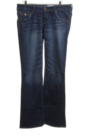 H&M Boot Cut Jeans blau Jeans-Optik