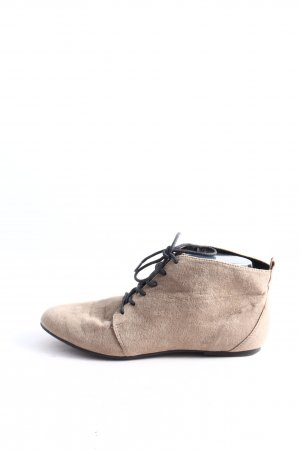 H&M Booties wollweiß Casual-Look