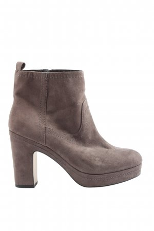 H&M Booties braun Casual-Look