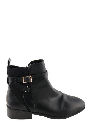 H&M Booties schwarz Business-Look