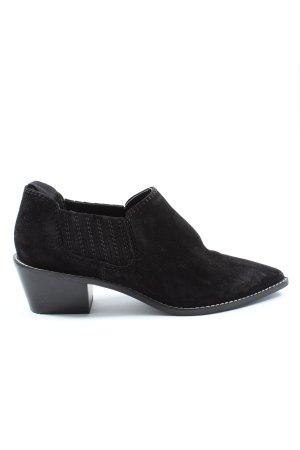H&M Botki czarny W stylu casual