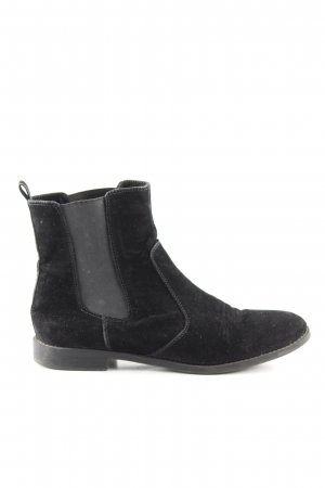 H&M Booties schwarz Casual-Look