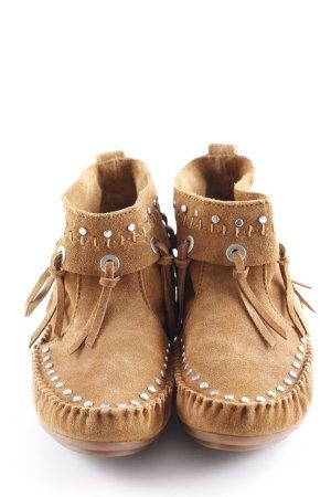 H&M Booties camel Casual-Look