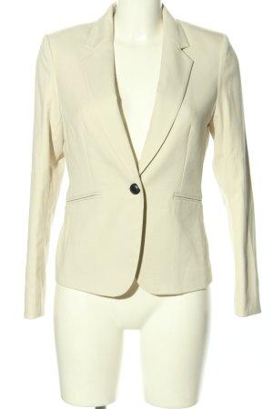H&M Marynarka typu boyfriend w kolorze białej wełny W stylu biznesowym