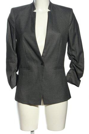 H&M Blazer boyfriend gris clair style d'affaires