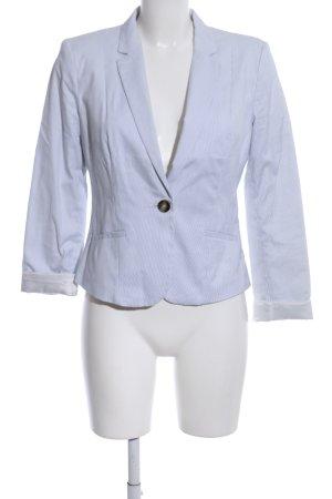 H&M Blazer stile Boyfriend blu-bianco motivo a righe stile professionale