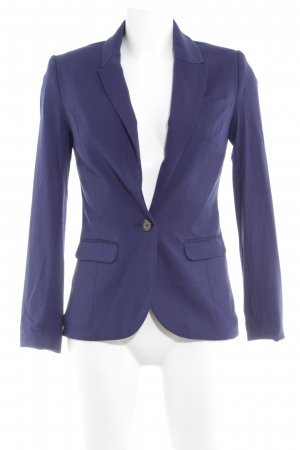 H&M Boyfriend-Blazer blau Business-Look