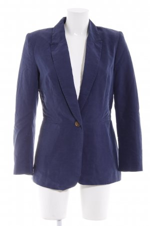H&M Boyfriend-Blazer dunkelblau Business-Look