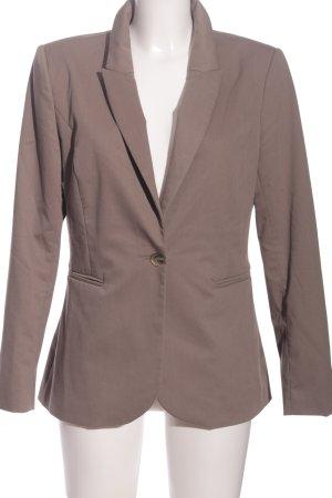 H&M Boyfriend-Blazer braun Business-Look