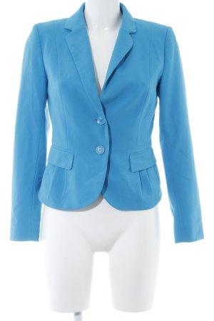H&M Boyfriend-Blazer neonblau Casual-Look