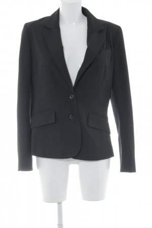 H&M Boyfriend-Blazer schwarz Business-Look