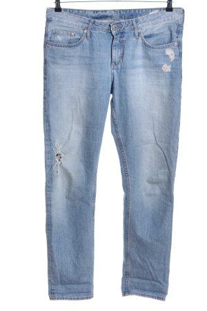 H&M Jeans boyfriend bleu style décontracté