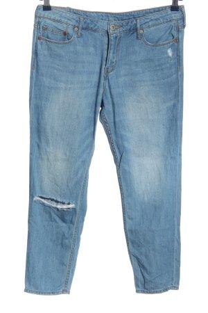 H&M Jeans boyfriend blu stile casual