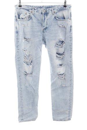 H&M Boyfriend jeans blauw casual uitstraling