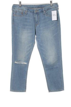 """H&M Jeans boyfriend """"Girlfriendjeans """" azzurro"""