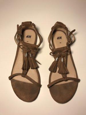 H&M braune Sandaletten Gr. 36