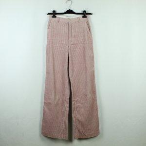 H&M Corduroy Trousers light pink cotton