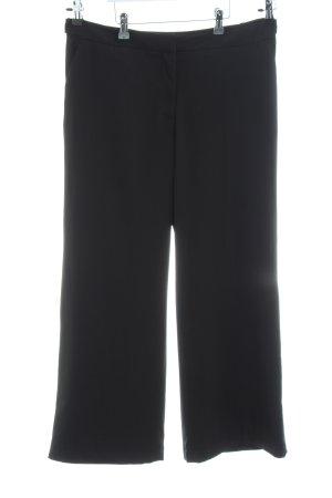 H&M Bundfaltenhose schwarz Elegant