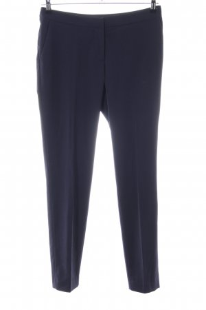 H&M Bundfaltenhose blau Business-Look