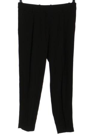 H&M Bandplooibroek zwart zakelijke stijl