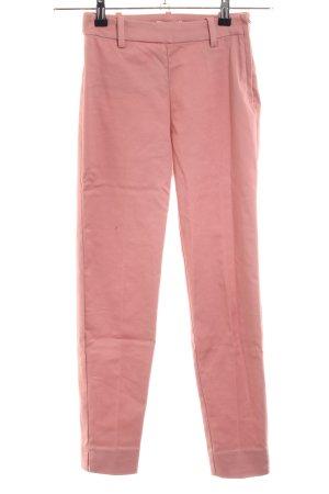 H&M Bundfaltenhose pink Casual-Look