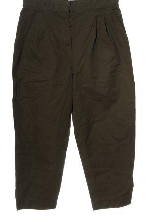 H&M Pantalon à pinces kaki style décontracté